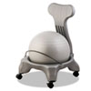 FitPro Ball Chair, 50 cm, PVC, Gray