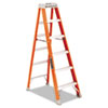 FS1500 Series Fiberglass Step Ladder, 6ft