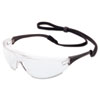 MS750 Millennia Sport Protective Eyewear, Clear Lens, Black Frame