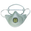 EZ-ON N95 Particulate Respirator, w/Valve