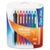 Paper Mate InkJoy 300RT Ballpoint Pen, 1.0 mm, Fashion Assorted, 8/Pk