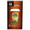 Starbucks VIA Ready Brew Coffee, 3/25 oz, Colombia, 8/Box
