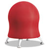 "Zenergy Ball Chair, 22 1/2"", Crimson/Silver"
