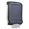 San Jamar Classic Large Cap. Ultrafold Towel Dispenser, 11 3/4 x 6 1/4 x 18, Black Pearl