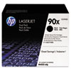 HP 90X, (CE390XD) 2-pack High Yield Black Original LaserJet Toner Cartridges