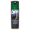 Off Deep Woods Insect Repellent, Aerosol, Deet, 6oz