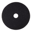 "Stripper Floor Pad 7200, 19"", Black, 5 Pads/Carton"