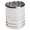 "Torqueplus Socket, 1/2"" Drive, 1-1/4"" Opening, 12-Point"