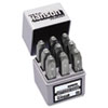 "Standard Steel Hand Stamp Set, 3/8"", Number"