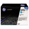 HP 642A, (CB401AG) Cyan Original LaserJet Toner Cartridge for US Government