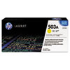 HP 503A, (Q7582AG) Yellow Original LaserJet Toner Cartridge for US Government
