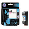 51644M (HP 44) Ink Cartridge, 1600 Page-Yield, Magenta