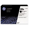 CE505XD (HP 05X) High-Yield Toner Cartridge, 6,500 Page-Yield, 2/Pack, Black