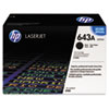 Q5950A (HP 643A) Toner Cartridge, 11,000 Page-Yield, Black