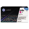 HP 648A, (CE263AG) Magenta Original LaserJet Toner Cartridge for US Government