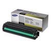 Samsung CLTY504S Toner, 1800 Page-Yield, Yellow