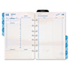 Coastlines Dated Two-Page-per-Day Organizer Refill, 5-1/2 x 8-1/2, 2013