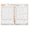 Blooms Dated Weekly/Monthly Planner Refill, Jan.-Dec., 5-1/2 x 8-1/2, 2013