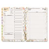 Blooms Dated Daily Planner Refill, January-December, 5-1/2 x 8-1/2, 2013