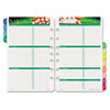 Day-Timer Garden Path Dated Two-Page-per-Week Organizer Refill, 5-1/2 x 8-1/2, 2014