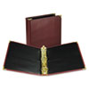 "Classic Collection Ring Binder Portfolio, 11 x 8 1/2, 2"" Capacity, Burgundy"