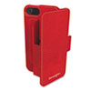 Kensington Portafolio Duo Wallet for iPhone 5, Red