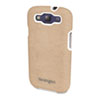 Kensington Vesto Textured Leather Case, for Samsung Galaxy S3, Coffee