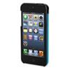 Kensington Vesto Textured Leather Case, for iPhone 5, Black/Green