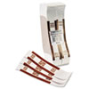 Self-Adhesive Currency Straps, Brown, $5,000 in $50 Bills, 1000 Bands/Box