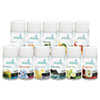 TimeMist Fragrance Dispenser Refills, Assorted Fragrances, 6.6oz, 12/Carton