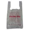 Barnes Paper Company Plastic Thank-You T-Sack - BPC 6415THYOU