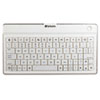 Verbatim Bluetooth Ultra-Slim Wireless Mobile Keyboard, White