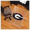 Collegiate Chair Mat for Hard Floors, 48 x 36, Georgia Bulldogs