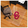 Collegiate Chair Mat for Hard Floors, 48 x 36, Oklahoma Sooners
