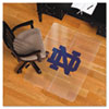Collegiate Chair Mat for Hard Floors, 48 x 36, Notre Dame Fighting Irish