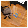 Collegiate Chair Mat for Hard Floors, 48 x 36, Tennessee Lady Volunteers