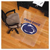 Collegiate Chair Mat for Hard Floors, 48 x 36, Penn State Nittany Lions