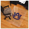 Collegiate Chair Mat for Hard Floors, 48 x 36, Auburn Tigers