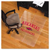 Collegiate Chair Mat for Hard Floors, 48 x 36, Arkansas Razorbacks