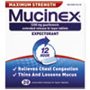 Max Strength Expectorant, 28 Tablets/Bottle