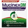 DM Max Strength Expectorant and Cough Suppressant, 28 Tablets/Box