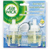 Air Wick 82733 Scented Oil Refill, Seasonal - Coconut Breeze, .67oz, Clear, 2/Pack RAC82733 RAC 82733