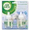 Air Wick 82291EA Scented Oil Refill, Aqua Essences - Cool Linen & White Lilac, .67oz, 2/Pack RAC82291EA RAC 82291EA