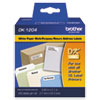 Brother Die-Cut Multipurpose Labels, .66