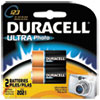 Duracell Ultra High-Power Lithium Battery, 123, 3V, 2/Pack
