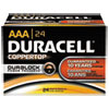Duracell MN2400B24000 CopperTop Alkaline Batteries with Duralock Power Preserve Technology, AAA, 24/Bx DURMN2400B24000 DUR MN2400B24000
