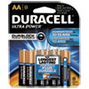 Ultra Power Alkaline Batteries with Duralock Power Preserve Technology, AA, 8/Pk