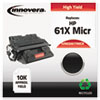83061TMICR Remanufactured, C8061A (61X MICR) MICR Toner, 10000 Yield, Black