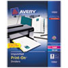Print-On Dividers, 8-Tab, Unpunched, 8-1/2 x 11, White, 5 Sets/Pack