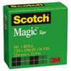 "Magic Tape, 1"" x 1296"", 1"" Core, Clear"